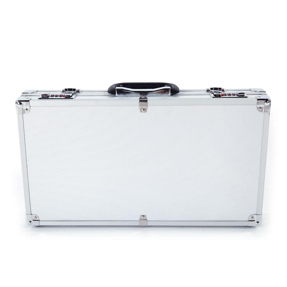 3765472470c7eb Aluminum Password Lock Pistol Gun Case Hard Storage Carry Case Hand Safe Box