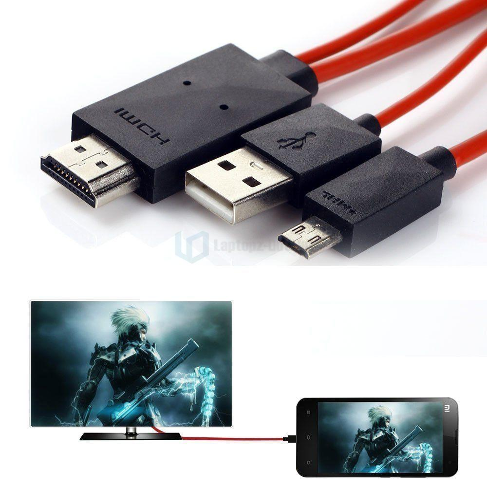 samsung tv cable. 1080p mhl micro usb to hdmi hd tv cable adapter for samsung android smart phones tv