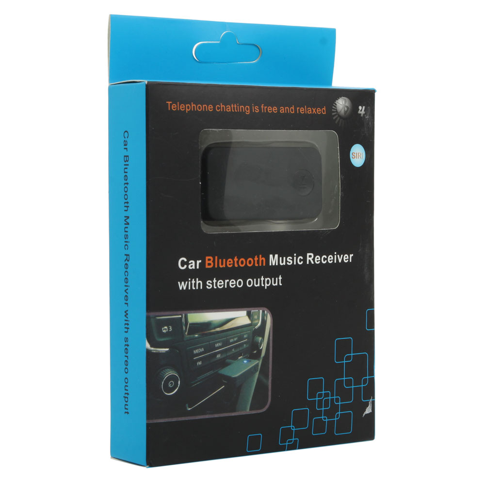 AVRCP A2DP Bluetooth V4.1 + EDR 3.5MM AUX Audio Stereo Car Home Receiver Adapter 851977092990
