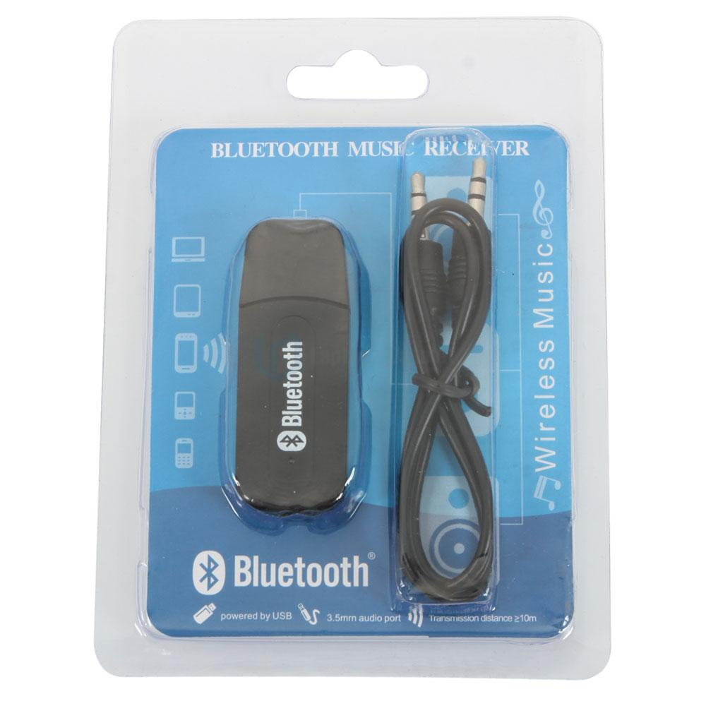 Mini A2DP USB Power Wireless Bluetooth 3.5mm Stereo Audio Music Receiver Adapter
