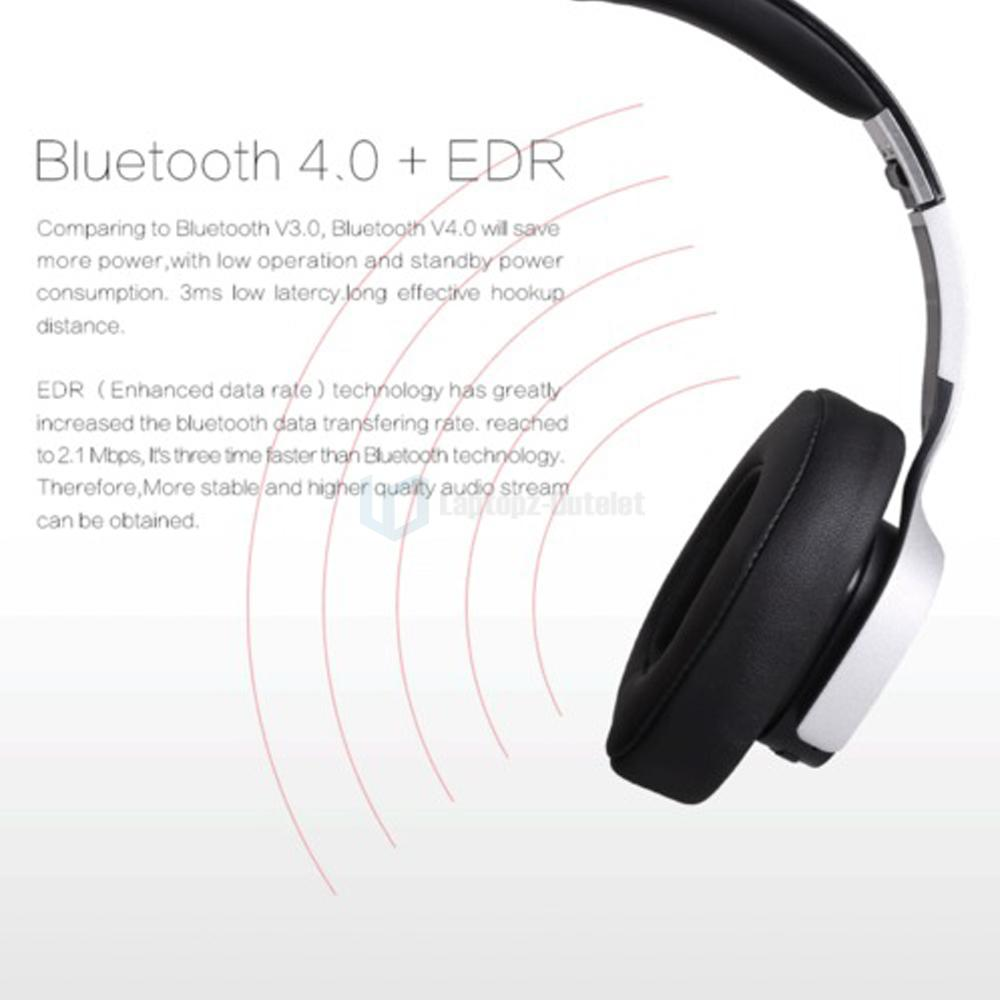 ausdom m08 foldable gaming wired wireless bluetooth headsets stereo headpho. Black Bedroom Furniture Sets. Home Design Ideas