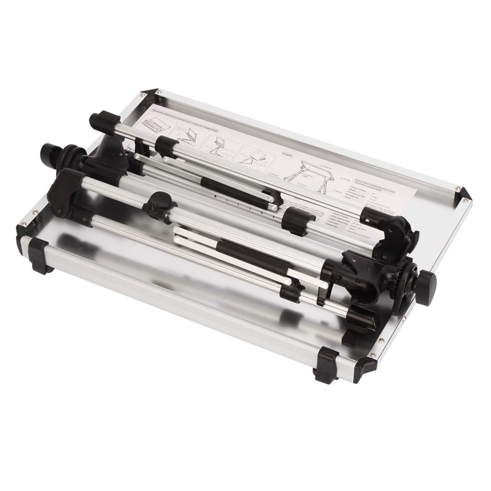 Portable folding laptop notebook table desk adjustable laptop stand - 745863243590
