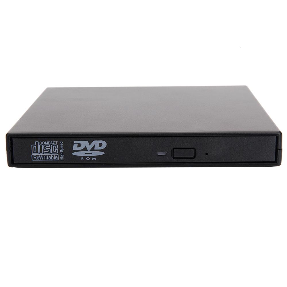 New USB 2.0 External Combo Laptop CD-RW DVD Drive Disc ...