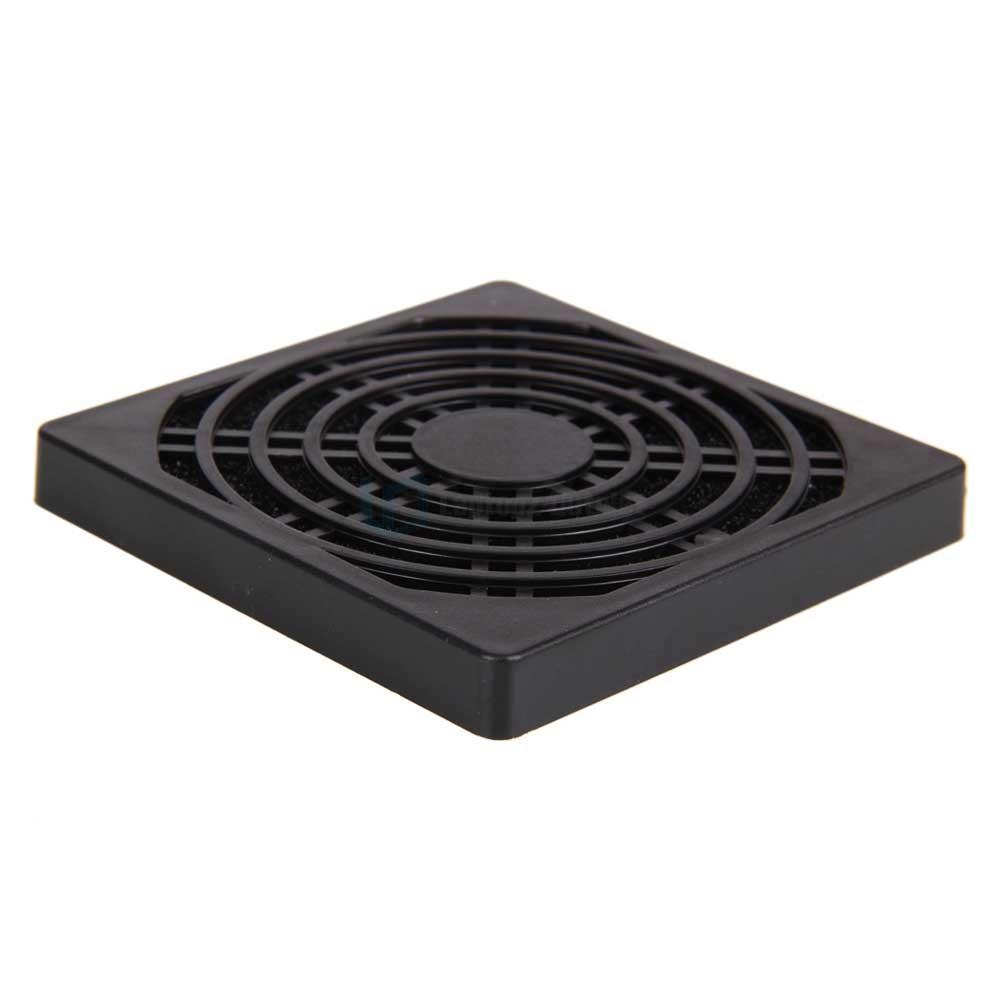 80mm dust air filter for pc cooling fan black dustproof us ebay. Black Bedroom Furniture Sets. Home Design Ideas