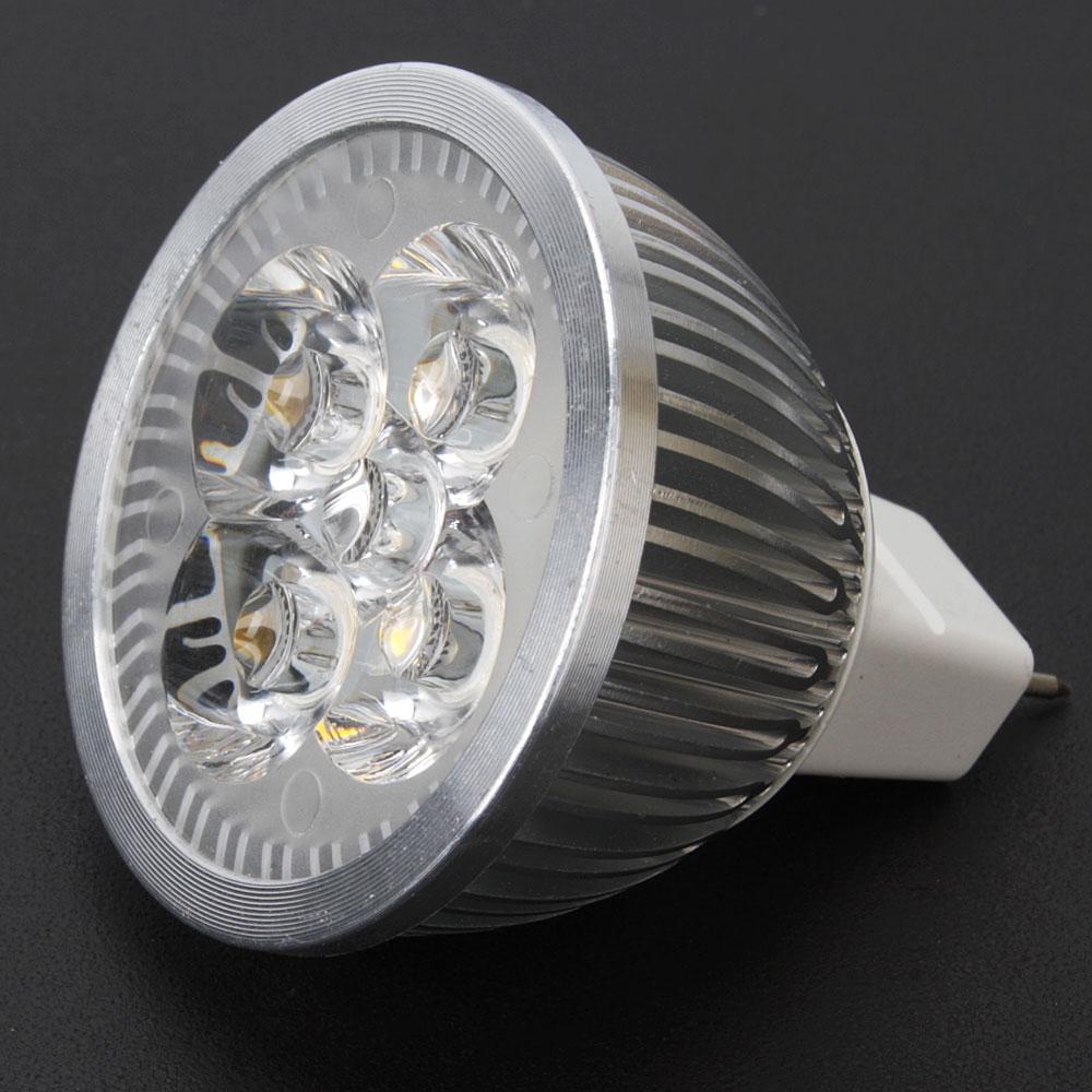 Led Spotlight Warm White: MR16 GU5.3 DC12V 4W 360LM LED Spotlight Bulb Lamp Warm