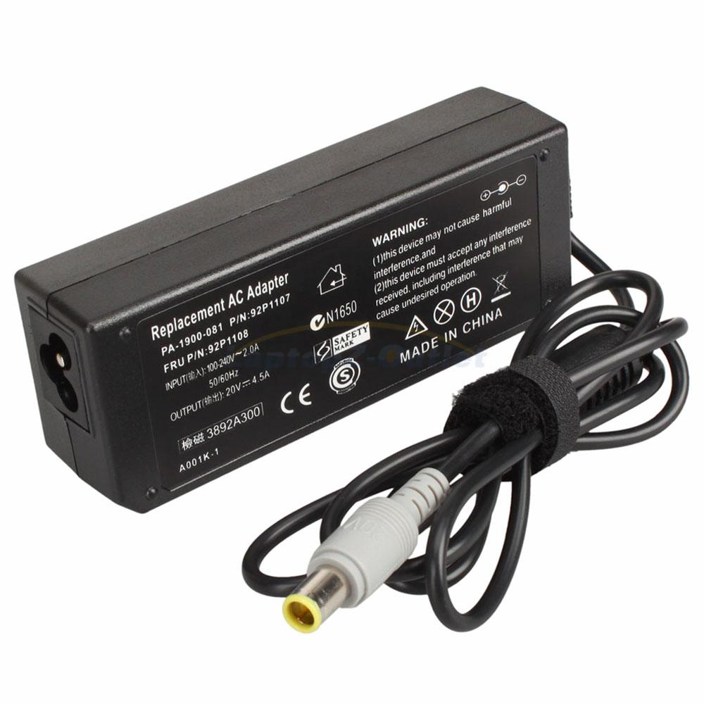 Ac Power 90w Adapter For Ibm Lenovo Thinkpad Z61m T61p