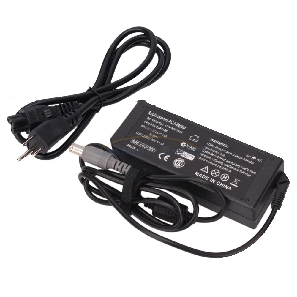 90w Battery Charger For Ibm Lenovo Thinkpad T410 T420 T510